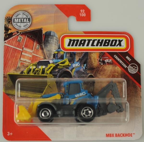 Matchbox: MBX Backhoe (C0859/GKL81)