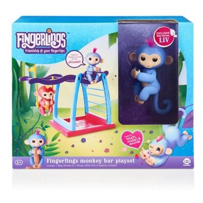 Fingerlings plac zabaw z huśtawką - zestaw (3731)