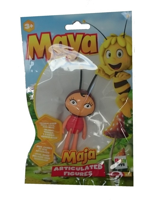 Pszczółka Maja figurka w saszetce Pani Biedronka