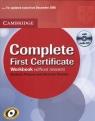 Complete first certificate Workbook  Thomas Barbara, Thomas Amanda
