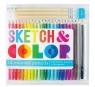 Kredki ołówkowe Szkicuj i koloruj 24 kolory