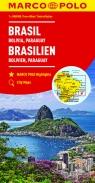 Brazylia Boliwia Paragwaj 1:4 000 000