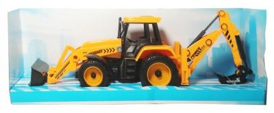 Traktor z koparką (Uszkodzone opakowanie)