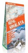Nepal Himalaya trekking map 1:115000