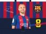 Teczka z rączką A4, FC Barcelona