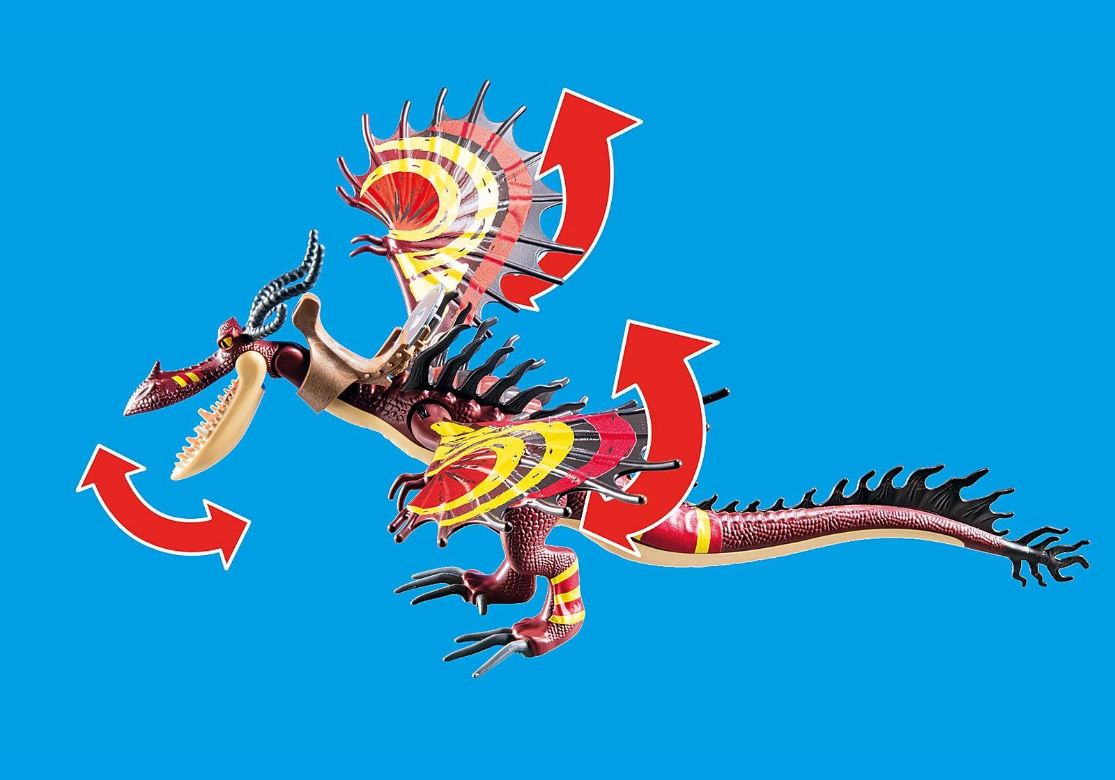 Playmobil Dragon Racing: Sączysmark i Hakokieł (70731)
