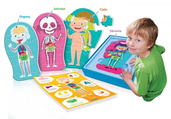 Uczę się Bawiąc: Ciało Ludzkie - wersja dla najmłodszych (60931)