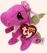 Maskotka brelok Beanie Boos Darla - Różowy Smok (TY 35031)