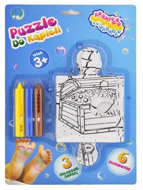 Koloruj na okragło puzzle do kąpieli (RU0315)