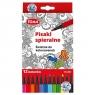 Pisaki zmywalne TOMA TO-591, 12 kolorów (338185)