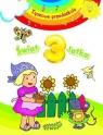 Świat 3-latka. Tęczowe przedszkole