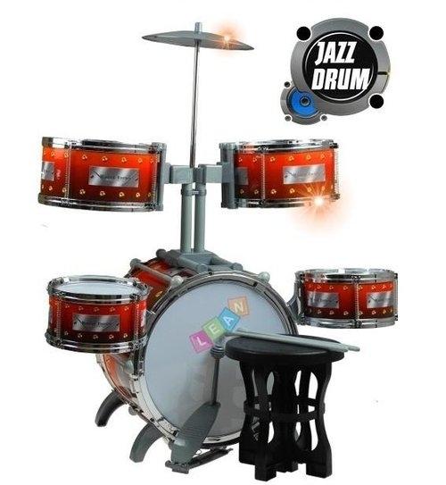 Perkusja Bębny Talerz Dla Małego Perkusisty 70cm