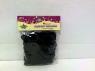 Pompony girlanda 1,25cm czarna DIY16071I