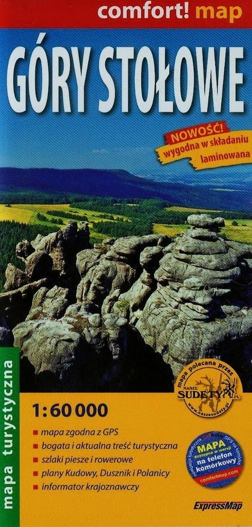 Góry Stołowe mapa turystyczna 1:60 000