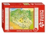 Puzzle edukacyjne 260 Mapa Polski młodego odkrywcy (8315)