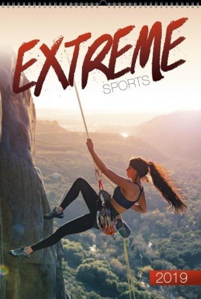 Kalendarz 2019 Wieloplanszowy Extreme sports
