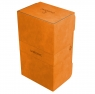 Ekskluzywne pudełko Stronghold Convertible na 200+ kart - Pomarańczowe (08315)