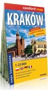 Kraków mapa kieszonkowa 1:22 000