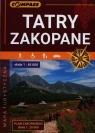 Tatry Zakopane mapa turystyczna 1:65 000