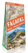 Fogaraskie Góry, Buczegi, Piatra Craiului laminowana mapa trekingowa TerraQuest