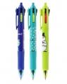 Długopis automatyczny 0,7 mm, niebieski - So Many Cats (ABP803S6)