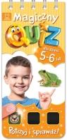 Magiczny quiz dla dzieci 5-6 lat Pomarańczowy