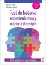 Test do badania rozumienia mowy u dzieci i dorosłych z płytą CD
