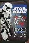 Piórnik dwuklapkowy bez wyposażenia Star Wars