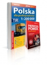 Polska Atlas sam dla profesjonalistów 1:200 000+Pierwsza pomoc