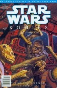 Star Wars komiks. Luke Skywalker: Aurra Sing praca zbiorowa