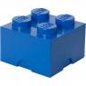 Pojemnik klocek LEGO Brick 4 - Niebieski (40031731)