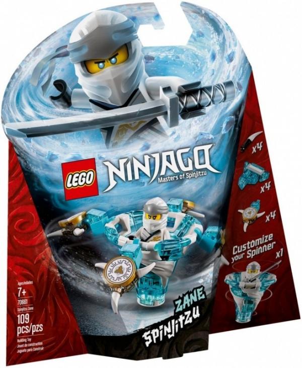 Klocki Ninjago Spinjitzu Zane (70661)