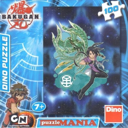 Puzzle 100 Bakugan Shun and Phoe DINO
