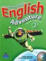 English Adventure 2. Książka ucznia i zeszyt ćwiczeń + CD i DVD