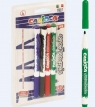 Markery tablicowe 4 kolory Carioca (43231)