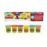 Play Doh 6-Pack Tub jasne kolory