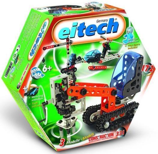 Klocki konstrukcyjne - 3 modele plastik