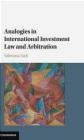 Analogies in International Investment Law and Arbitration Valentina Vadi