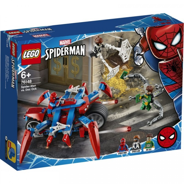 Lego Marvel Spider-Man: Spider-Man kontra Doc Ock (76148)
