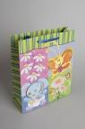 Torebka Ozdobna 3D Średnia z motywem zwierząt i kwiatów