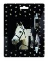 Zestaw pamiętnik na kłódkę z długopisem Paso Horse (18-3643HS)