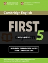 Cambridge English First 5 SB with answers Corporate Author Cambridge ESOL