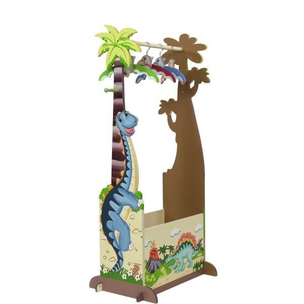 F.FIELDS Dinosaur Skrzyn ia  4 wieszaki