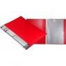 Teczka ofertowa A4 20 koszulek czerwona