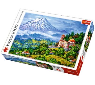 Puzzle Pejzaż z wulkanem 1000 elementów (10431)
