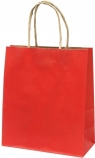 Torba prezentowa mała Eko - czerwona