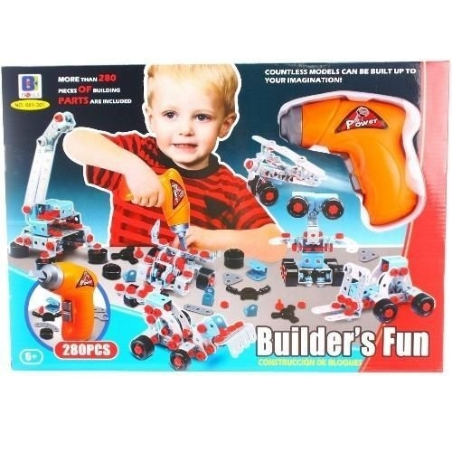 Klocki konstrukcyjne Builders Fun
