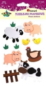 Naklejki piankowe 3D zwierzęta domowe DIY16023