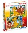 Puzzle SuperColor 2x60: Lion King (21604)