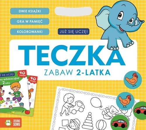 Teczka zabaw 2-latka Katarzyna Aronowicz